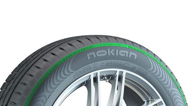 Reifen mit silent sidewall technology